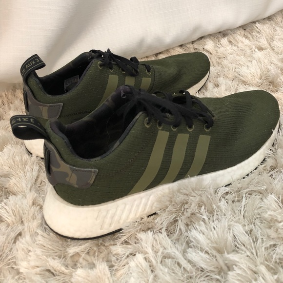 best website 0556e 39d17 men's army green adidas sneakers